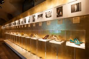 Rows of shoes from the 1930's onward