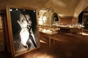 Inside of Ferragamo museum in Florence