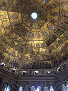 Bapistry ceiling