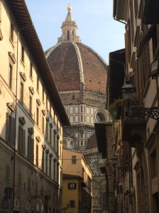 Cathedral of Santo Maria del Fiore from a side street